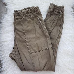 TNA Cargo Pants Grey Brown Size M